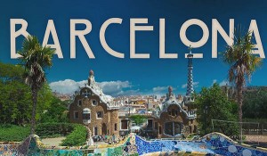 Barcelone en flow motion